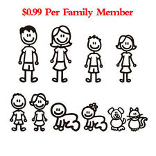 Family Member Auto Truck Car Sticker Decal Decoration Vinyl Art Decor Removable