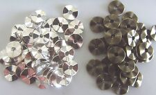 25 Antique Silver / Bronze Tortuose Ring Spacer Beads Findings 9mm Metal Charm