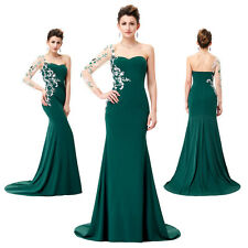 LONG LADIES Formal Evening Dress Mermaid Celebrity Ball Pageant Party Prom Gown