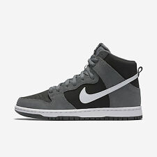 Nike SB Zoom Dunk High Pro [854851-010] Skateboarding Dark Grey/White-Black