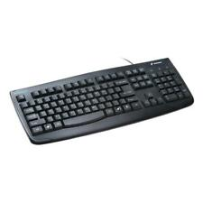 Kensington Pro Fit Washable USB Keyboard With Antimicrobial Protection Black