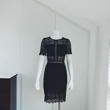New w/tags Mr Self Portrait Style Black Lace Dress Blogger Celeb Fav RRP£240!