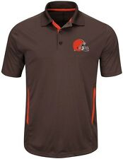 Cleveland Browns NFL Mens Cool Base Performance Polo Shirt Big & Tall Sizes