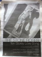 < STONE ROSES - TEN STOREY LOVE SONG - original magazine advert small poster
