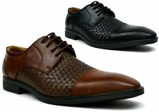 BRAND NEW SMART LACE UP WORK FORMAL OFFICE LOW HEEL SLIP ON SHOES UK SIZE 6-11