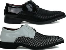 BRAND NEW MENS LOW HEEL SMART STUNNING FORMAL LACE UP SLIP ON SHOES UK SIZE 6-11