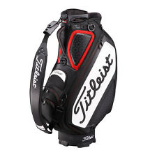 Titleist Japan Golf Caddy Carry Staff Bag TB7SF9 Tour Model Black White