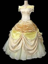 xCOSPLAY beauty and beast princess belle Costume tailor made kid adult GOWN