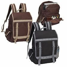 EXPRESSO COTTON CANVAS COMPUTER BACKPACK - AP4685