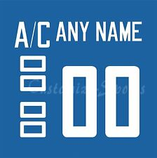 WCH Team Finland 2016 Blue Jersey Customized Number Kit un-sewn