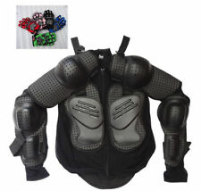 Kids Children Youth Body Armour Armor Jecket Protector & Gloves Riding Racing MX