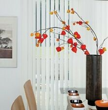 ** Bargain ** 8 VERTICAL BLINDS **ONLY £198** headrail & slats made to measure