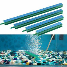 1pc Blue+Green Bubble Wall Tube Air Stone Aquarium Ornament Fish Tank All Sizes