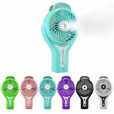 Mini Adjustable Portable Rechargeable USB Cooling Misting Fan Beauty Humidifier