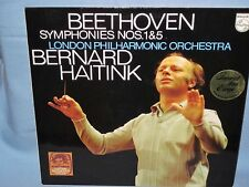 Philips 9500 067 Bernard Haitink Beethoven Symphonies 1 & 5. Scarce Netherlands!