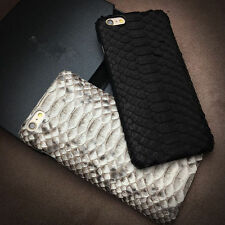 Hot Genuine Leather Python Snake Skin Phone Case Cover For iPhone  6 6s 7/Plus
