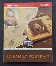 Husqvarna 4D Family Portrait stand alone software brand new with dongle VIKING