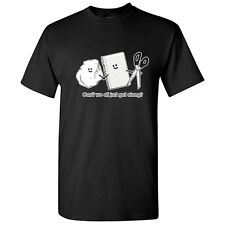 CAN'T WE JUST GET ALONG -Humor Graphic Cool Unisex Gift Funny Novelty TShirts