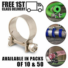 JUBILEE TYPE 304 STAINLESS STEEL HOSE CLIP CLAMP FUEL LINE SILICONE PIPE