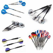 3PCS 12pcs Dart Set Torpedo Shape Barrel Dart Steel Needle Tip Darts Flight 22g