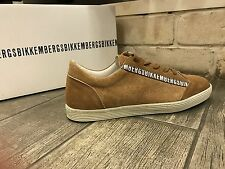 Dirk Bikkembergs Mens Shoes Fashion Sneakers Brown BKE107784 New In Box