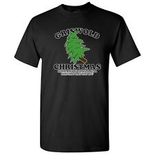 GRISWOLD BIG TREE -Christamas Movie Sarcastic Unisex Funny Novelty T-Shirts