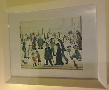 L.S. Lowry Print Framed 'The Cripples' 1949