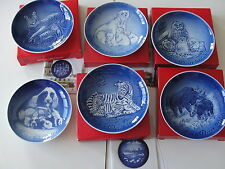 """""""1969 2005  2006 2007  2011 2012  2014  2016 2017 BING GRONDAHL MOTHER DAY PLATE"""