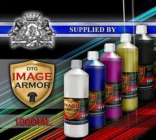 1L FRESH CMYK WHITE IMAGE ARMOR INK DIRECT TO GARMENT DTG TEXTILE PRINTER INK