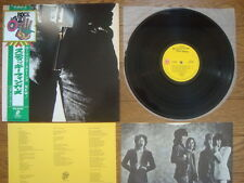 THE ROLLING STONES Sticky Fingers JAPAN 1st Issue LP w/ Rock Age OBI Real Zipper