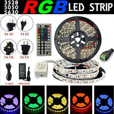 5M 10M 20M LED Flexible Strip Light SMD 3528 5050 5630 300/ Remote/ Power Supply