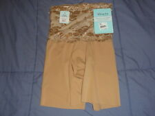 NWT Assets by Sara Blakely Chic Peek Mid-Thigh  Style 1155 In NUDE Ret. $34.00
