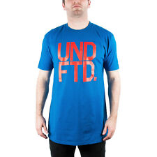 UNDEFEATED UNDFTD BLOCK TEE SHIRT BLUE 5900397-BLUE