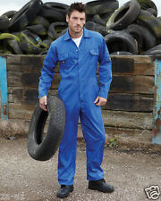 Dickies Workwear Coverall Overalls Boilersuit Redhawk Stud Front Mens WD4819
