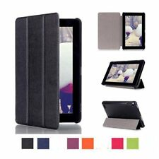 Kindle Fire 7 2015 Tablet Case Stylish Folio Leather Cover Stand Case Amazon New