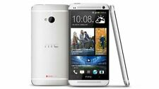 UNLOCKED HTC One T-mobile 32GB (Silver) Global GSM 4G LTE Android Phone Lollipop