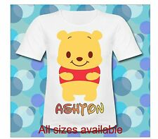 Personalized Winne the Pooh T Shirt All Size Winnie the Pooh birthday Tee