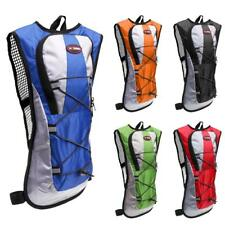 Hydration Pack Backpack Rucksack Hiking Cycling Pouch with 2L Water Bladder Bag