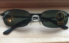 RAY BAN RB3162 SLEEK 006 G15 BLACK SUNGLASSES NEW No Reserves