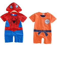 Infant Boy Girl Baby Super Hero Romper Outfit Suit Party Fancy Dress Costume Hot