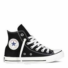Converse Hi All Star Chuck Black White Youth Kids Boys Girls Shoe Size 10.5-3