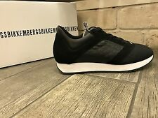 Dirk Bikkembergs Mens Shoes Fashion Sneakers Black BKE108450 - New In Box