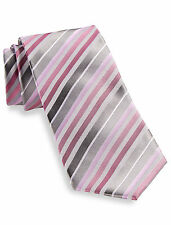 Synrgy™ Ombre Triple Stripe Silk Tie Casual Male XL Big & Tall