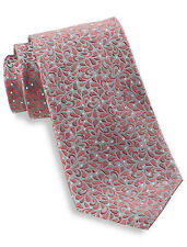 Synrgy Small Paisley Leaf Silk Tie Casual Male XL Big & Tall