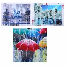 30*40CM Landscape Pattern DIY Painting Embroidery Cross Stitch Painting F7