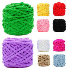 1Ball Colorful Super Soft Double Knitting Chunky Towel Wool Ball Skeins Yarn New