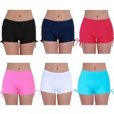 Women Sexy Bikini Bottom Swim Brief Mini Boardshorts Swimwear Beach Surf Shorts