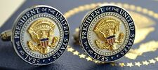 OFFICIAL WHITE HOUSE PRESIDENTIAL SEAL CUFFLINKS~ROUND SHIELD DESIGN~NEW!