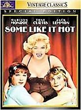 Some Like It Hot (DVD, 2001, Special Edition) Tony Curtis Marilyn Monroe Sealed!