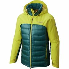 COLUMBIA MENS M HEATZONE 1000 TURBODOWN OMNI HEAT INSULATED GOOSE DOWN JACKET